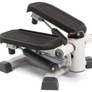 SportPlus 2in1 Mini Side Stepper Sidestepper Fitnessgerät mit Trainingscomputer