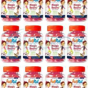 ActiKid Magic Beans Raspberry - 90 Beans (Pack of 12)