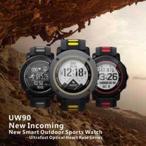 Outdoor IP68 Wasserdicht Smartwatch Sport Fitness Armband Pulsuhr GPS Uhr