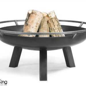 COOK KING BBQ Grill Feuerschale Feuerstelle Porto + Edelstahlrost 80 cm ***NEU**