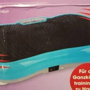 Vibrationsplatte Vibrationstrainer Ganzkörpertraining Power Vibro 200W.