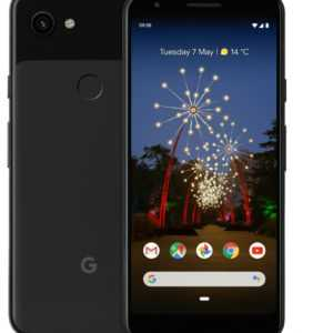 Google Pixel 3a - 64 GB - Just Black  *NEU* + OVP