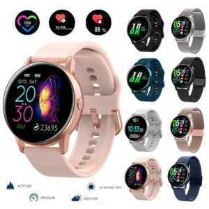 Bluetooth Smart Watch Heart Rate Monitor Fitness Tracker For Ios Android