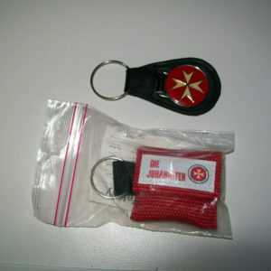 Beatmungsmaske Notfall Schlüsselanhänger Johanniter und Schlüsselanhänger #12
