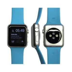 Apple Watch Sport 42mm in Silber/Blau vom Händler MLC52FD/A