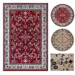 Orientteppich Teppich Orient Perser Landhaus Rund Design Webteppich Moderner