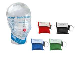 5/10 x Beatmungshilfe, Beatmungstuch, Erste Hilfe Beatmungsmaske, HLW Maske