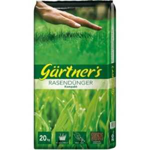 20 KG Rasendünger Kompakt Rasen Dünger Gartendünger - bis 400 m² - TOP Qualität!