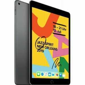 Apple iPad 10.2 128GB MW752LL/A 7.Generation 2019 WiFi space-grau Tablet PC neu.