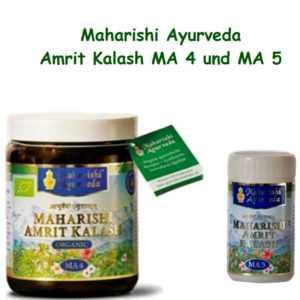 Set Amrit Kalash MA 4 Kräutermus und MA 5 Tabl.,einzigartige Kräuterkomposition