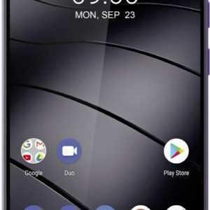 Gigaset Smartphone GS195 Dual SIM 32GB Dark Purple