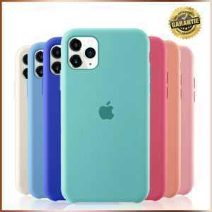 Original APPLE iPhone 11 - Pro - Pro Max Silikon Case Hülle Tasche NEU