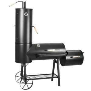 Räucherofen Multifunktion Grill BBQ Smokergrill Barbecue Holzkohlegrill *NEU