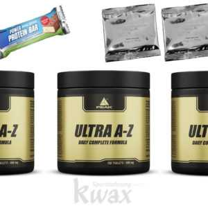 66,42 Euro/100g 3 x 150 Peak Ultra A/Z 450 Tabletten + 2 Produktproben + Riegel