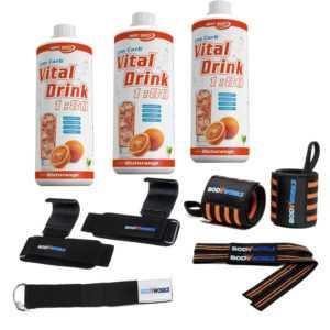 9,67€/L Best Body Vital Mineraldrink Konzentrat (3 x 1L + ZUBEHÖR) I Fitness