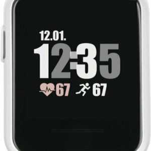X-Watch Smartwatch Keto SUN reflect - shiny silver