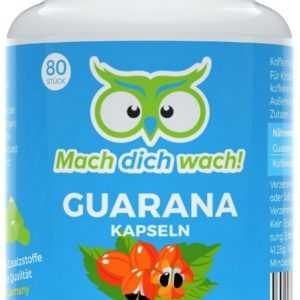 Guarana Kapseln / Tabletten - 50mg Koffein im Guarana Extrakt - Mach dich wach!