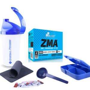24,10€/100g Olimp ZMA 120 Kapseln 1er Pack (1 x 111,6 g) + Bonus Zink Vitamine