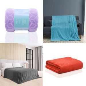 Wohndecke Nessa Tagesdecke Sofadecke Bettüberwurf Kuscheldecke
