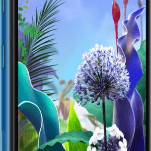 "LG Q60 DualSim Moroccan Blau 64GB LTE Android Smartphone 6,2"" Display 16 MPX"
