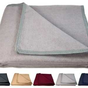 SALE !! Warme Wohndecke 100 % Wolle Wolldecke Tagesdecke 150 x 205