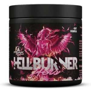 (EUR 291,23/kg) Peak - Hellburner Hers, 90 Kapseln - Diät, Abnehmen, Frauen