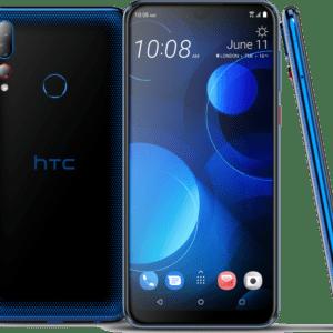 "HTC Desire 19+ DualSim starry Blau 64GB LTE Android Smartphone 6,2"" 13 Megapixel"