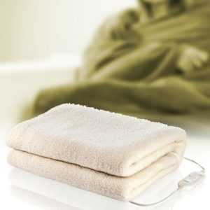 Elektrisches Wärme Unter Bett waschbare Woll Decke 2 Personen Heiz