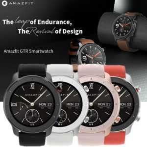 XIAOMI Amazfit GTR Smartwatch Fitness Tracker extrem Langer Akkulaufzeit GPS Uhr