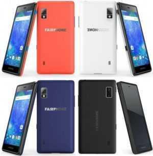 Fairphone 2 Android Smartphone ohne Simlock LTE 32GB 2GB Snapdragon™ 801 DualSim