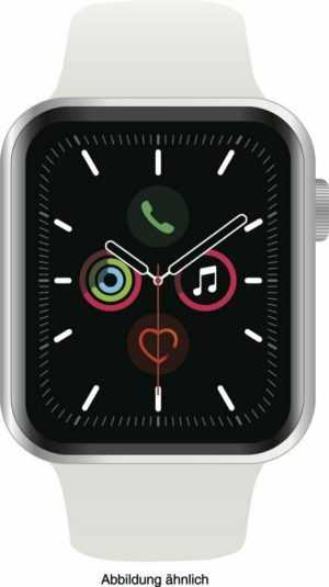 Apple Watch Series 5 Cell (LTE) 40 mm Alu silver, Sport white