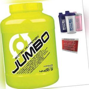 Scitec Nutrition Jumbo 4400g Mass Gainer Weight Gainer (4,4Kg 9,05/€/Kg) + Bonus