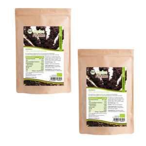 13,45€/100g Mynatura Bio Dulseflocken Algen Dulse Lappentang Vegan  (2 x 100g)
