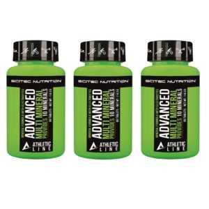 Scitec Nutrition Advanced Multi Mineral 60 Tabl. 60-180 Tabletten Athletic Line
