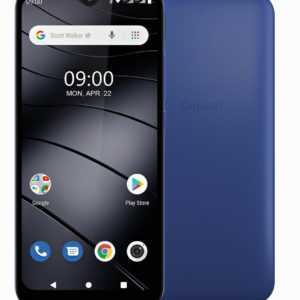 "Gigaset GS110 DualSim Azure Blau 16GB LTE Android Smartphone 6,1"" Display 8 MPX"