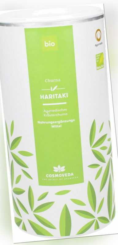 65,80€/kg Cosmoveda BIO Haritaki Churna hochwertig vegan 500g
