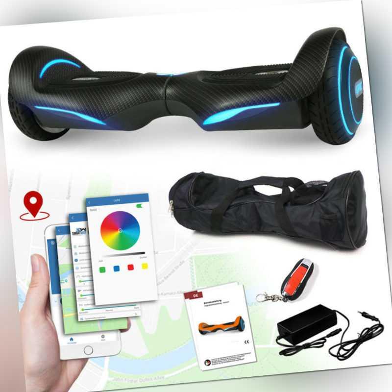 E-Balance Scooter mit APP +RGB-LED Elektroroller Elektro Board Smart Hover Wheel