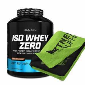 Biotech USA Iso Whey Zero 2270g Bio Tech Protein Eiweiss + Handtuch