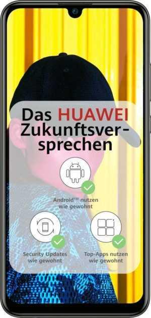 "Huawei P smart 2019 DualSim schwarz 64GB LTE Android Smartphone  6,21"" Display"