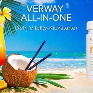 Verway All-in One 91,24 € /Kg Vitamine Mineralien Algen Colostrum Fruit