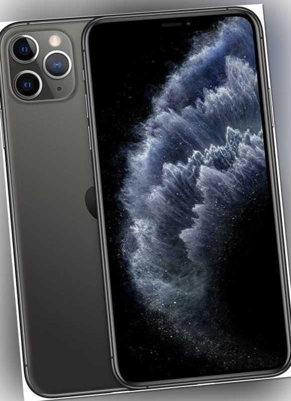 Apple iPhone ²11 Pro Max - 512GB - Space Grau (Ohne Simlock) A2218 OVP ✅ NEU ✅