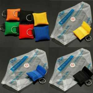 50 Beatmungsmaske Beatmungstuch BeatmungsErste Notfall Hilfe CPR Face Shield DHL