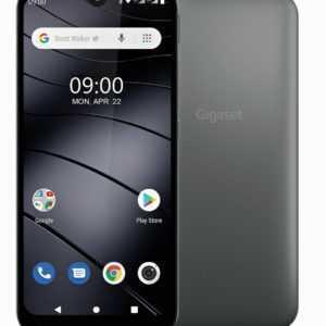 """Gigaset GS110 DualSim Titanium Grau 16GB LTE Android Smartphone 6,1"""" 8 Megapixel"""