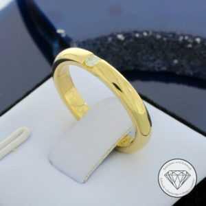SONDERAKTION WERT 780,- Brillant Solitär 750 / 18 Karat Gold Ring