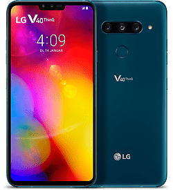 "LG V40 ThinQ DualSim Moroccan Blau 128GB LTE Android Smartphone 6,4"" 12 MPX"
