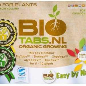 Bio-Tabs Start Set Grow Anbau Zucht Dünger Erde Pflanzen Startrex Bactrex Biotab