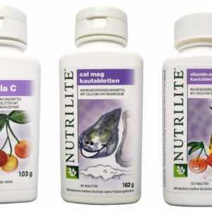 Amway Multivitamin Kautabletten Set auch f Kids Cal Mag+Acerola C+Mineralstoff