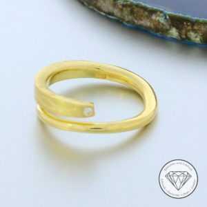 SONDERAKTION WERT 1.120,- Designer Brillant Ring 750 | 18 Karat Gold