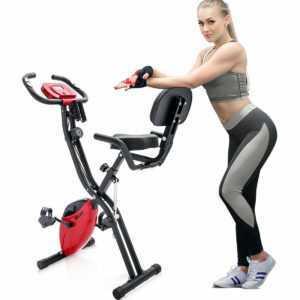 X Bike Heimtrainer Fitnessbike Trimmrad Fitnessgerät zusammenklappbar