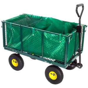 Grafner® Bollerwagen Transportwagen Gartenwagen Wagen Gartenkarre Plane 550 kg
